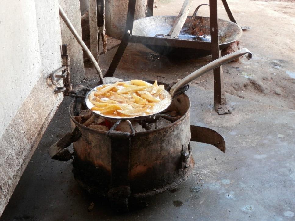 Typische Küche in Tansania
