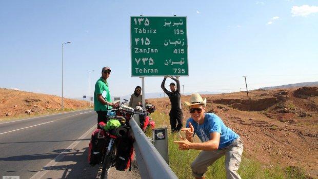Team im Iran