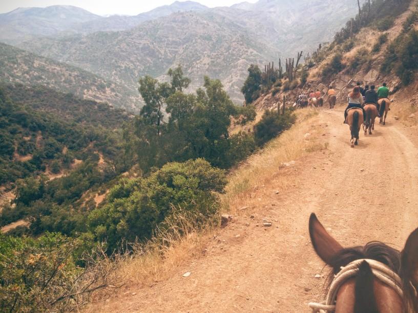 Reiten, Transport in Chile