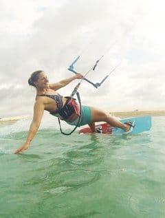 Trendsport-Kitesurfen