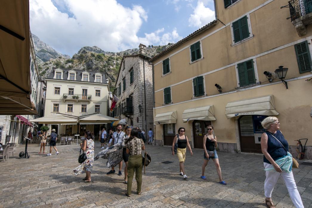Übernachtung in Kotor, Montenegro