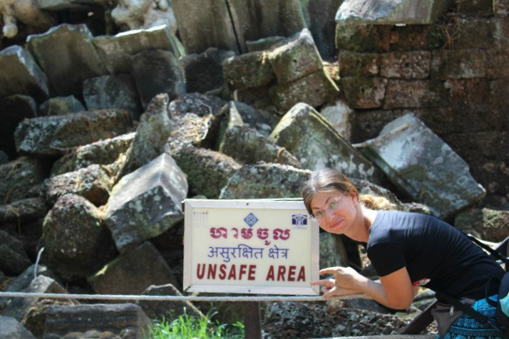 Unsafe Area Ta Prohm
