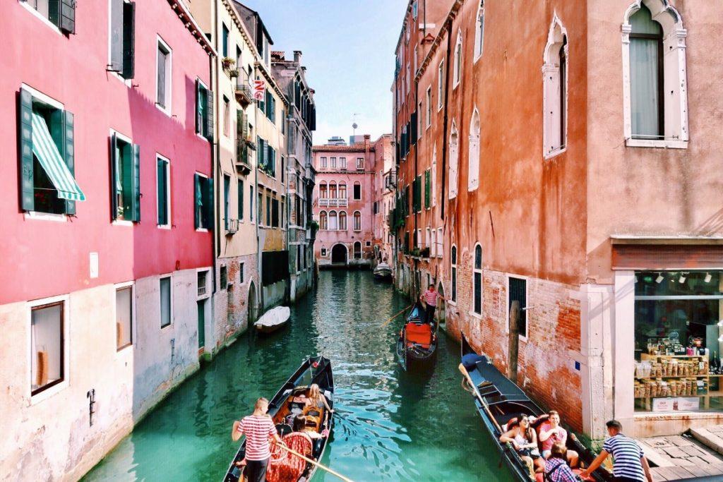 Die Sprache in Italien, Venedig