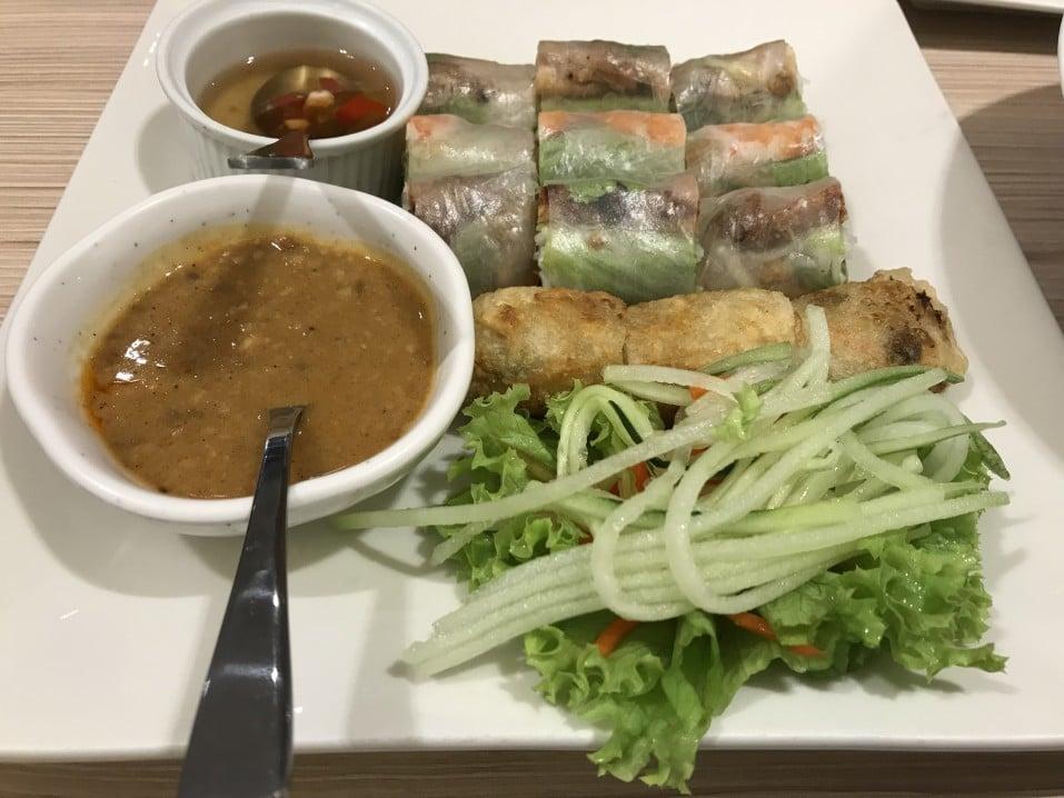 Typische Küche in Vietnam