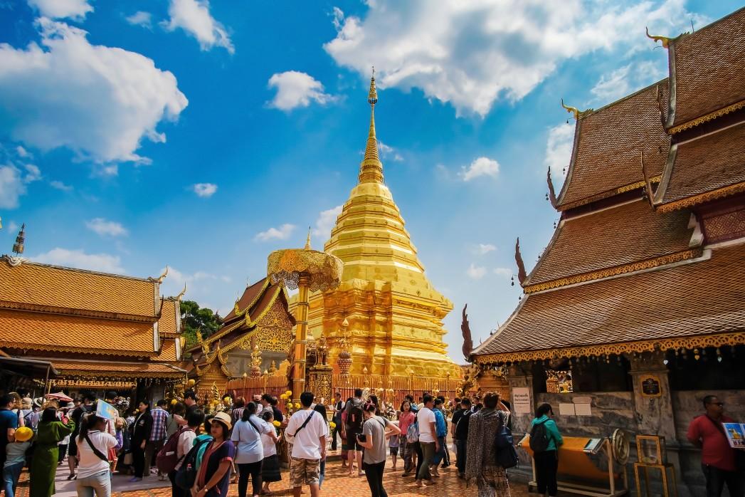 Wat Phra That Doi Suthep in Chiang Mai, Nordthailand