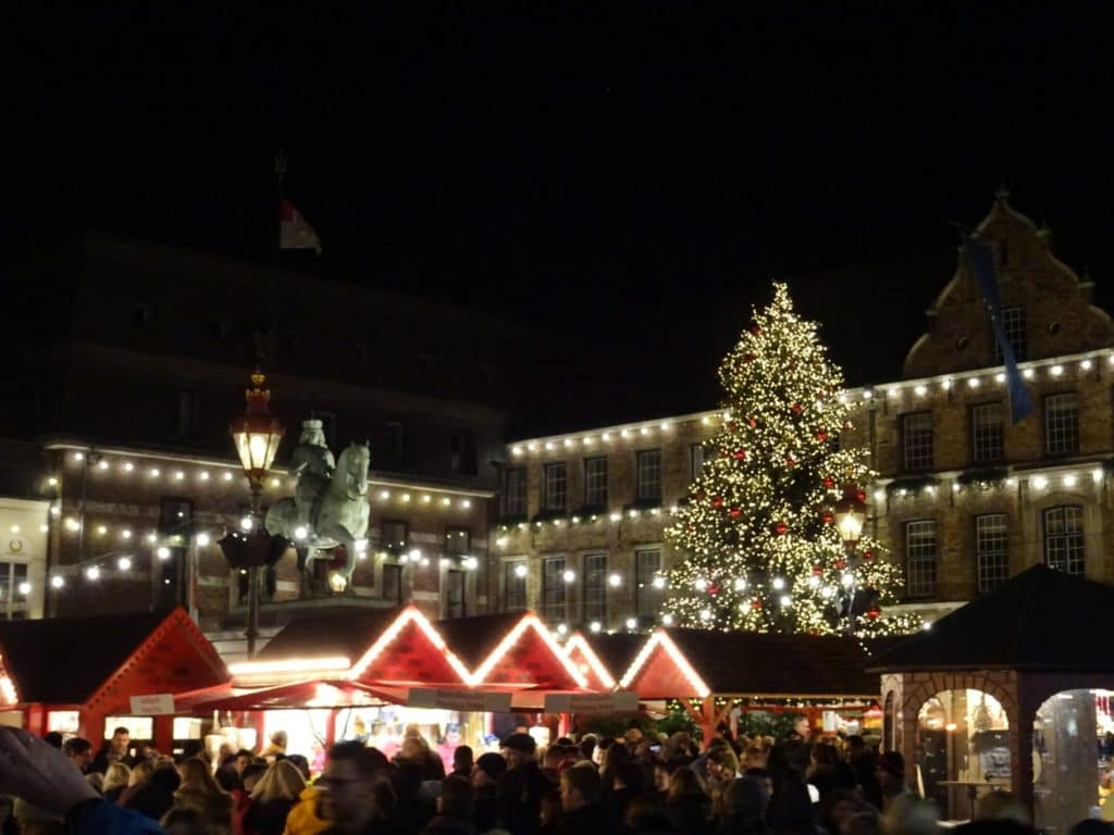 Weihnachtsmarkt Düsseldorf in Deutschland