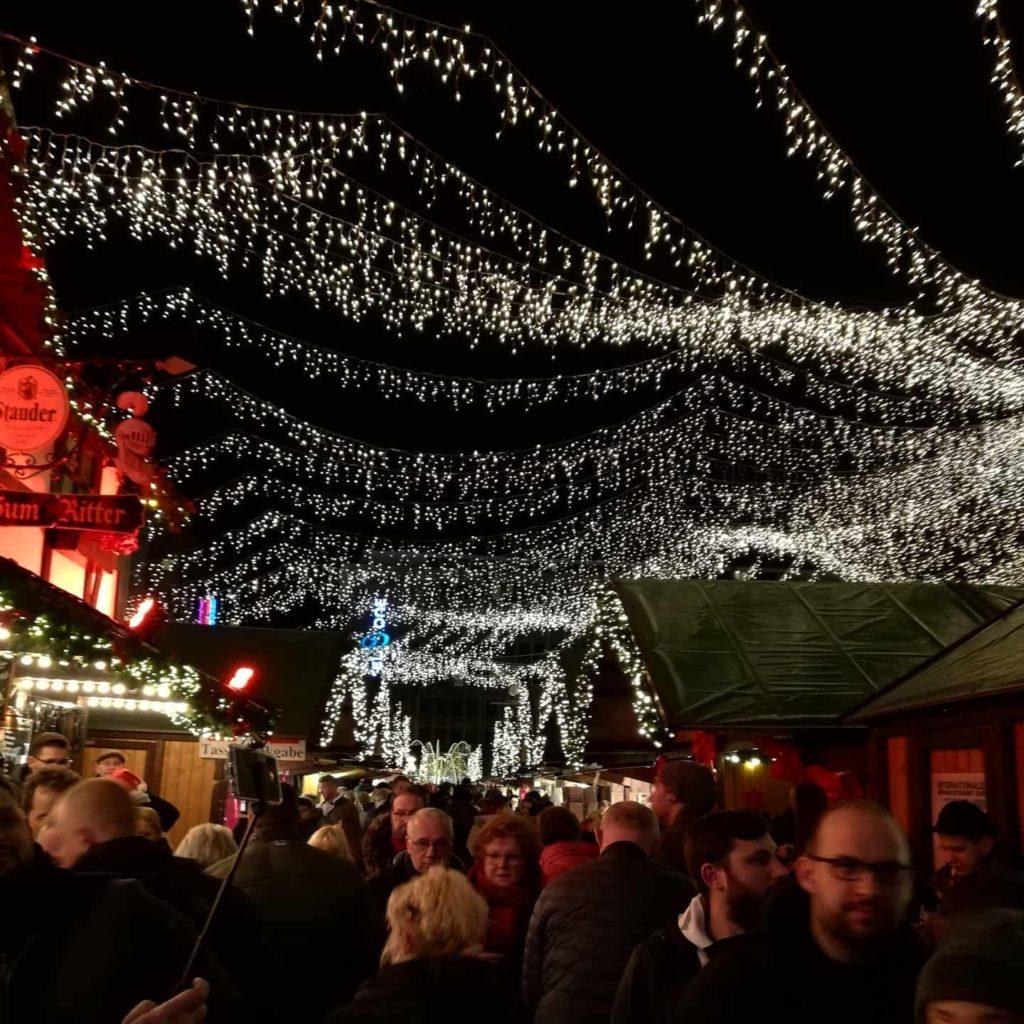 Weihnachtsmarkt Essen, Deutschland