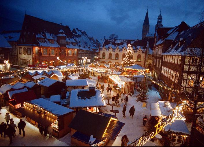 Weihnachtsmarkt und Weihnachtswald Goslar