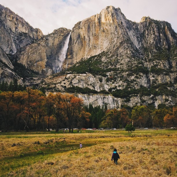 Yosemite-Nationalpark Besuch