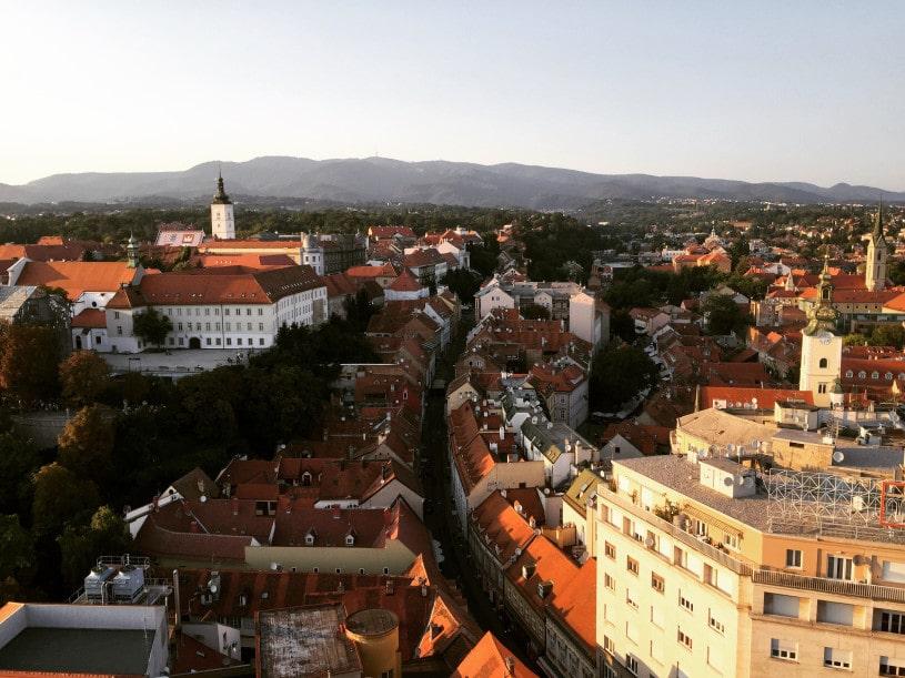 Backpacking in Zagreb