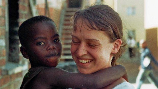 Afrikanisches Kind Südafrika