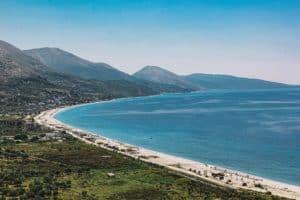 Küstenabschnitt im Südwesten Albaniens