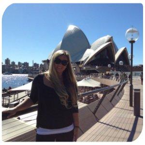 Mareike in Sydney