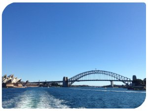 Fantastischer Blick von der Ferry