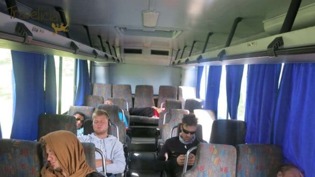 backpacking mexiko - bus nach chiquila