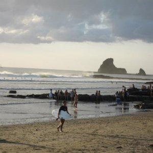 Backpacking Nicaragua Playa Maderas