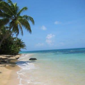 Strand an der Karibikseite