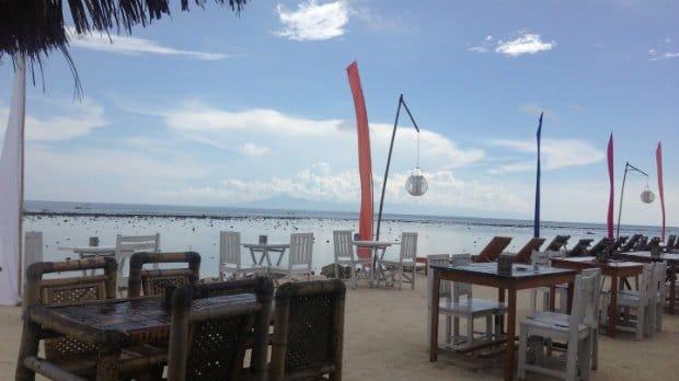 cafés-gili-islands