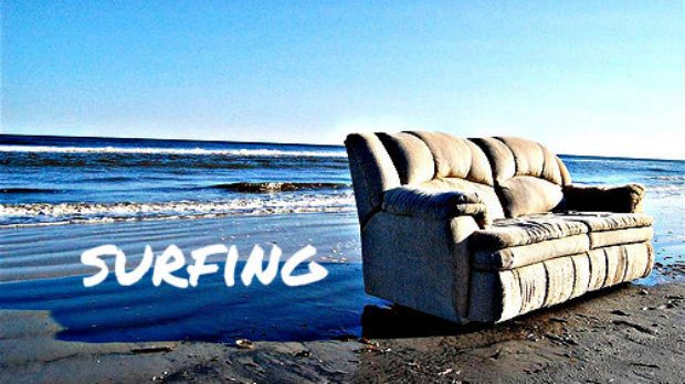 Backpacker Couchsurfing