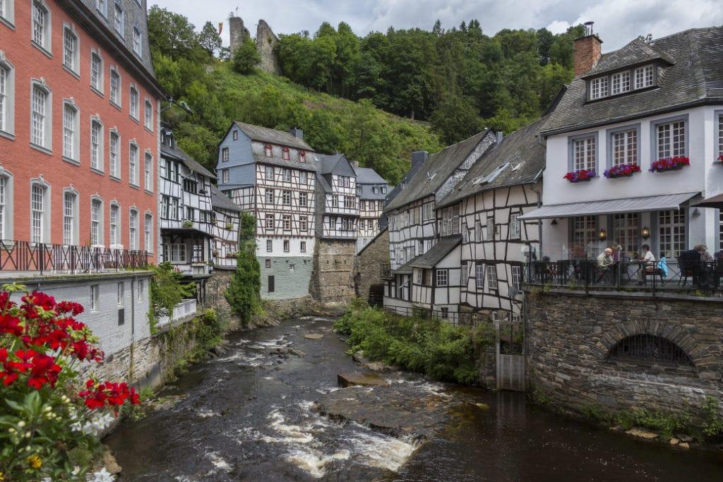 Weitere reizvolle Regionen, die Stadt Monschau