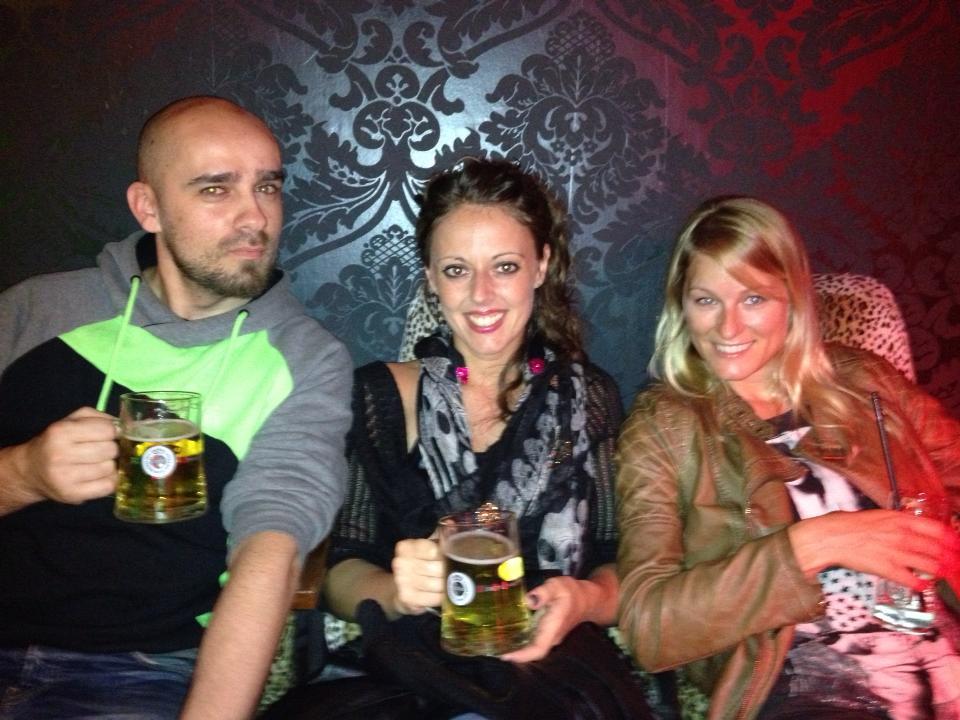 Giulia, Guillam und ich