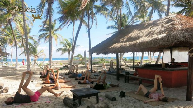 isla mujeres yoga