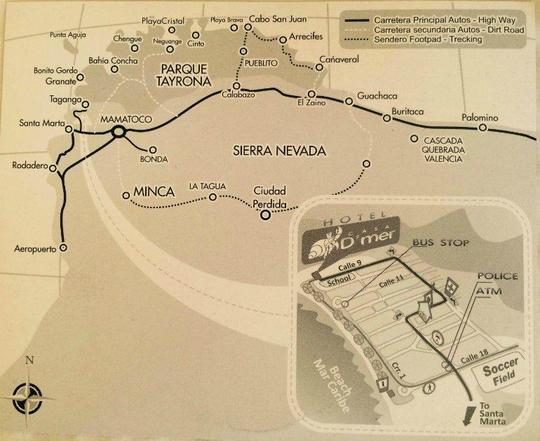 map-tayrona-nationalpark