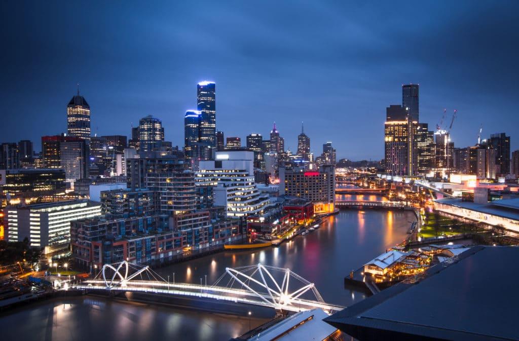 Mögliche Route für Backpackers in Australien