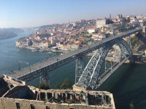 Tolle Aussichten in Porto