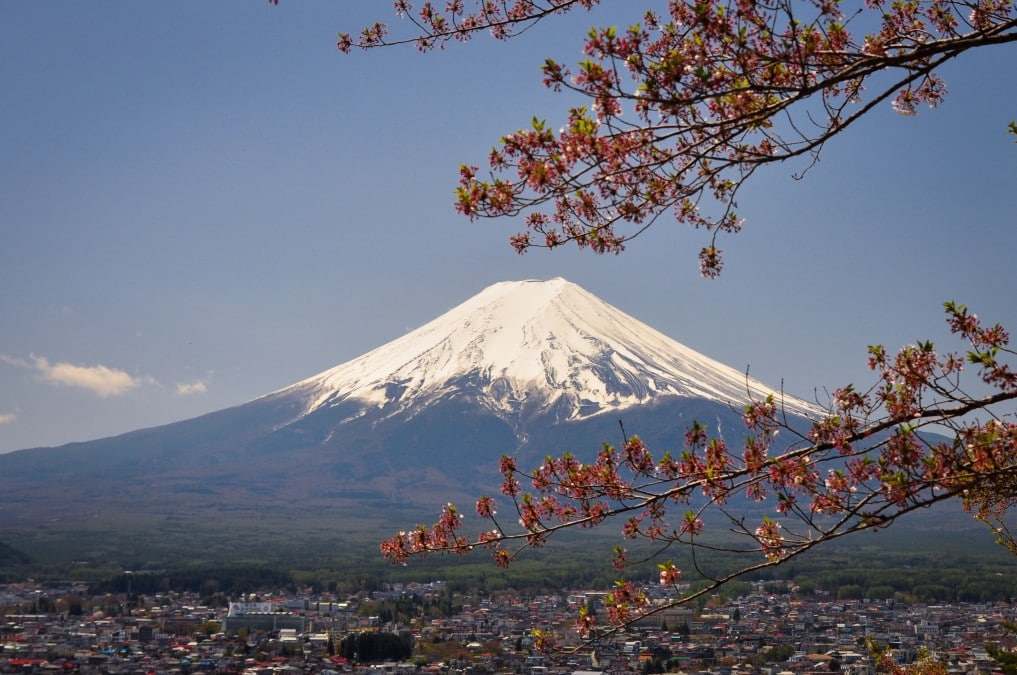 Beste Reisezeit in Japan