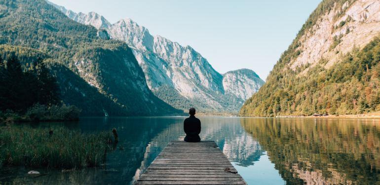 Meditation auf Reisen
