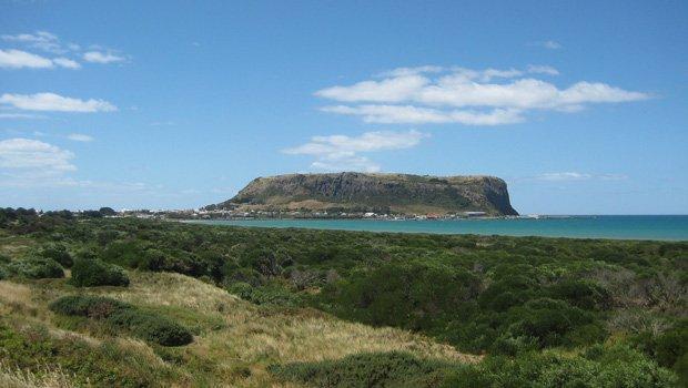 Backpacking in Tasmanien