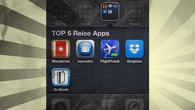 Unsere Top 5: Die besten Reise Apps