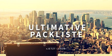 Umltimative Packliste