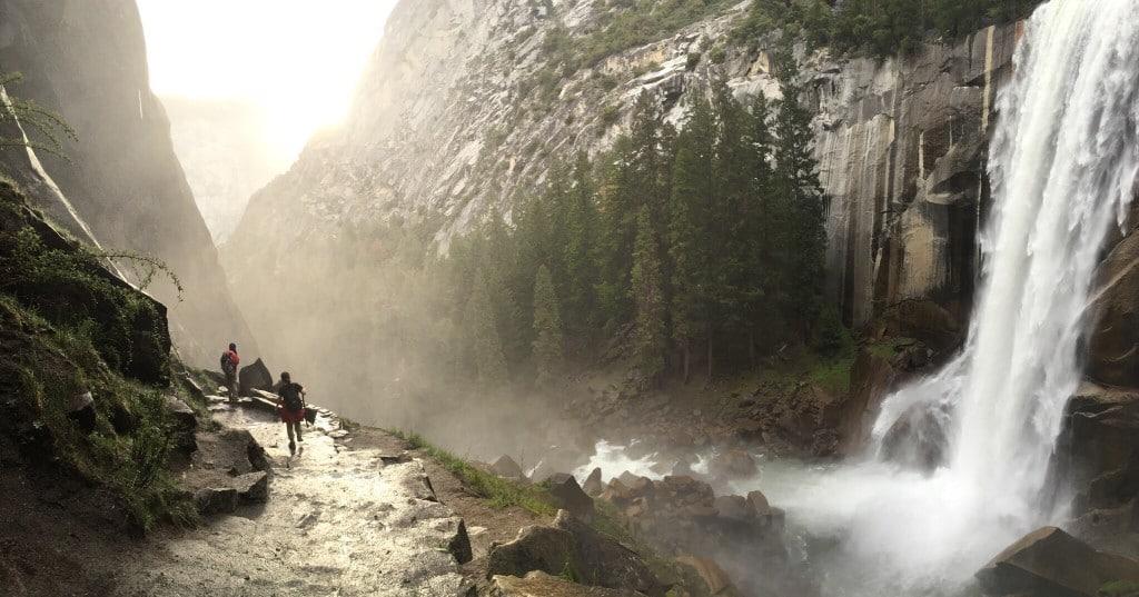Wanderung_Vernal Falls