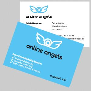 Visitenkarten Online Angels