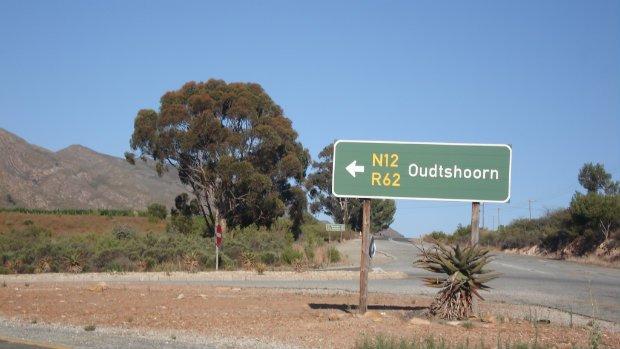 Weg nach Oudtshoorn Südafrika